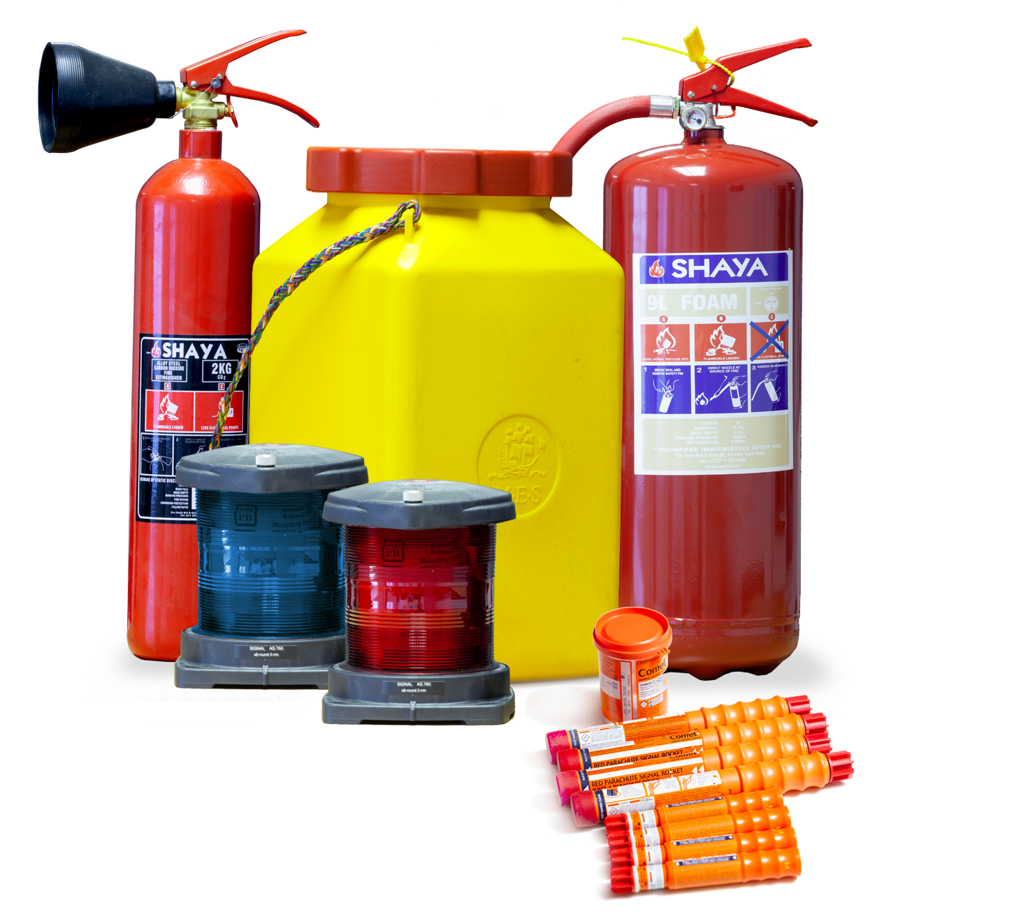 Survival and marine safety products